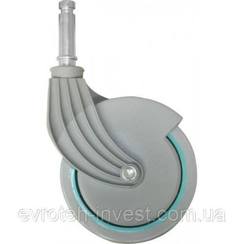 Колесо пластиковое для тележек Ник, НикЛайт, НикПлюс, НикСтар 80мм