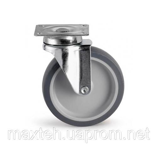Колесо для тележек ГринХотел, МэджикХотел 125мм с поворотной пластиной