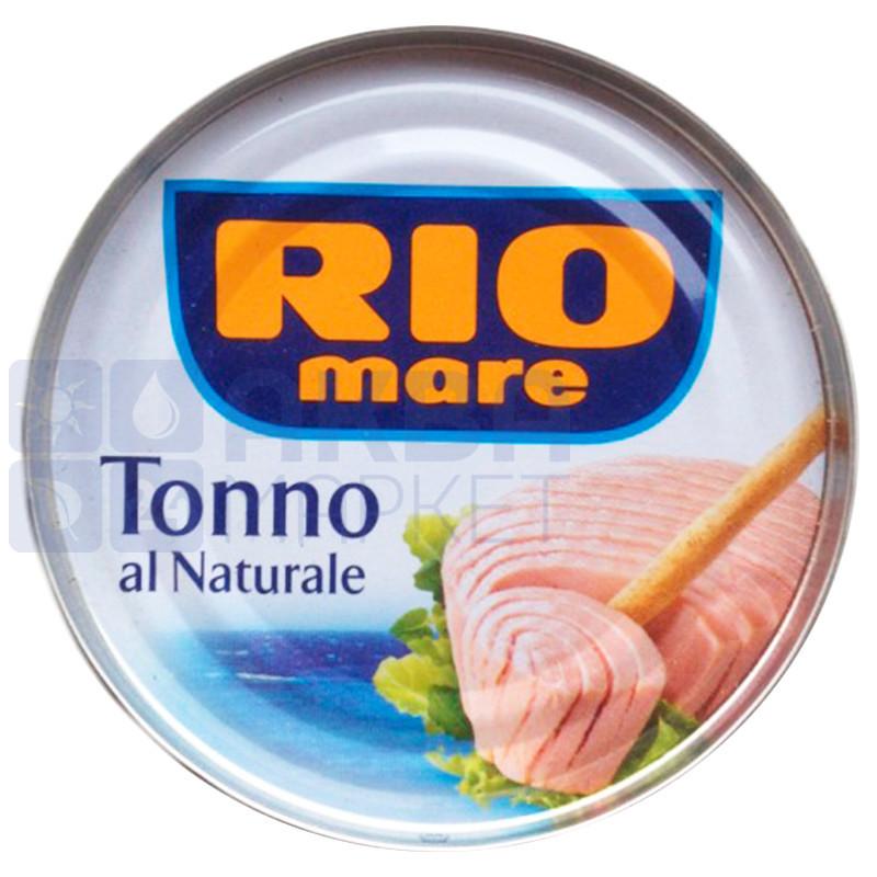Тунец в собственном соку Rio Mare, 80г