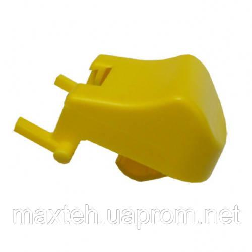 Кнопка желтая для основы