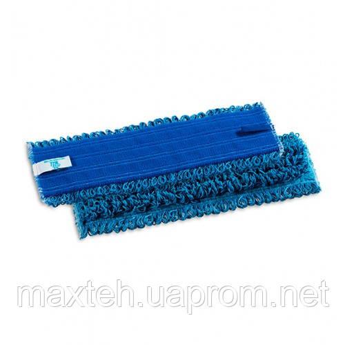 Моп Микрориччо Велкро микрофибра 40см синий
