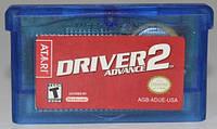 """Картридж на GBA """"DRIVER advance 2"""""""