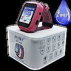 Детские водонепроницаемые GPS часы MYOX МХ-16GW розовые (камера+фонарик), фото 3