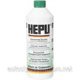 Антифриз HEPU G11 зеленый концентрат P999-GRN 1,5 л