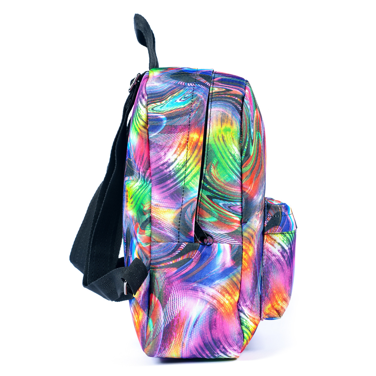 Рюкзак Mayers молодежный с принтом Разноцветные разводы, 7.5 л, фото 6