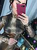 Женское эффектное платье с модным принтом в расцветках. Д-57-1218, фото 3