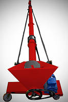 Шнековый погрузчик (транспортер, шнек) диаметром 133 мм, длиной 2 метра