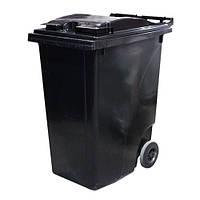 Мусорный контейнер 360л черный