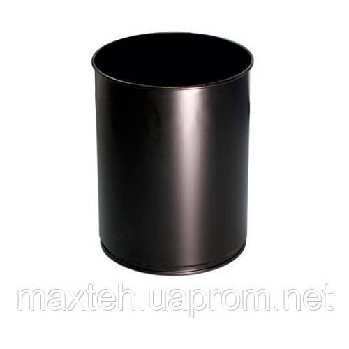 Урна для мусора 12л Линия-Р черная