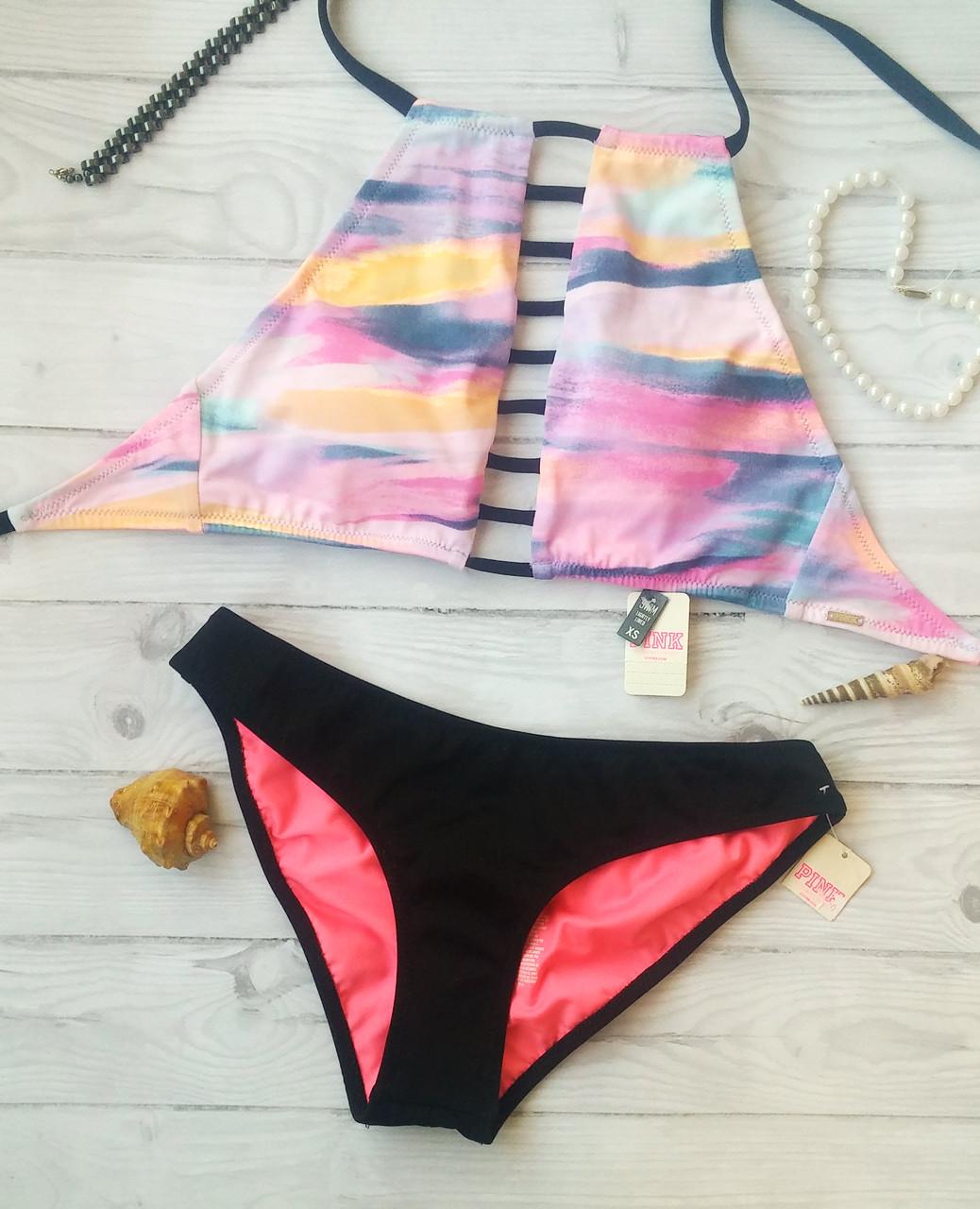 Купальник Раздельный Pink Victoria s Secret Размер ХS 4a54a36355dd9