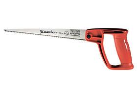 Ножовка по дереву для мелких пыльных работ, 320 мм, закаленный зуб, цельнолитая однокомпонентная ру