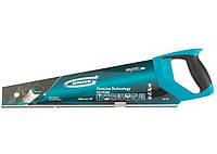 "Ножовка по дереву ""PIRANHA"", 450 мм, 11-12 TPI, зуб - 3D закаленный зуб, 2 комп. рукоятка // GROSS"