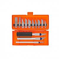 Набор резцов по дереву, пластмассовые ручки, 13 шт // SPARTA 246165