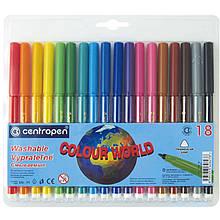 Набір фломастерів, 18 кольорів Centropen