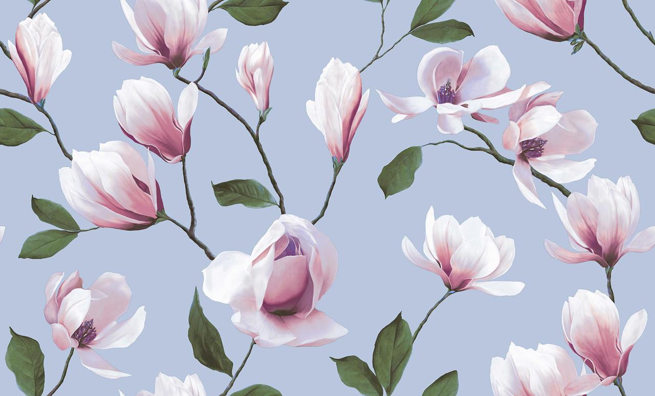 """Обои флизелиновые 3611-5  Магнолия  коллекция """"Spring Collecetion"""" Erismann для гостиной, спальни 1,06*10"""