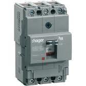 Корпусный автоматический выключатель 50 А 3 п, (Hager)