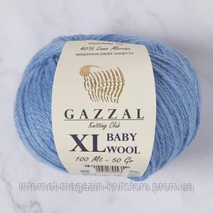 Пряжа Gazzal Baby Wool XL Блакитний