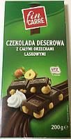 Шоколад черный Fin Carre Haselnut, 200г