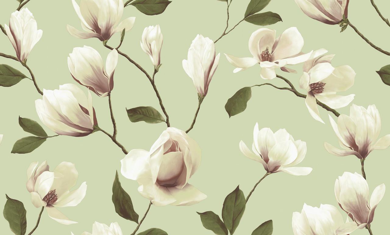 """Обои флизелиновые, 3611-2 Магнолия  коллекция """"Spring Collecetion"""" Erismann для спальни, гостиной, детской"""