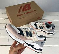 New Balance 530 White / Salmon | женские кроссовки