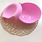 Пластиковая миска для семечек, орехов и снеков (розовый), фото 3