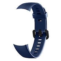 Ремешок для Honor Band 4/5 силиконовый - Синий