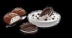 Шоколад молочный с кусочками печенья орео Schogetten Black&White (Печенье ОREO), 100г Германия, фото 2