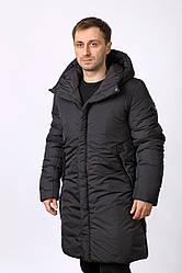 Куртка мужская зимняя, удлиненная (IsoSoft)