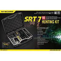 Набор для ночной охоты Nitecore SRT7, в подарочном кейсе