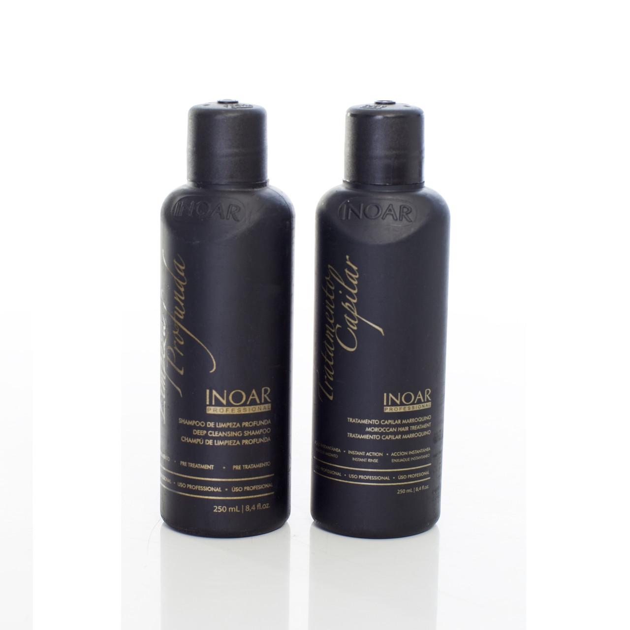 Кератин  для слабых волос Иноар Марокко, 2х250 мл
