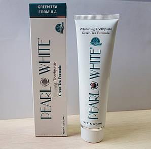 Отбеливающая зубная паста с защитой от кариеса и воспаления десен Beyond Pearl White Green Tea 120мл