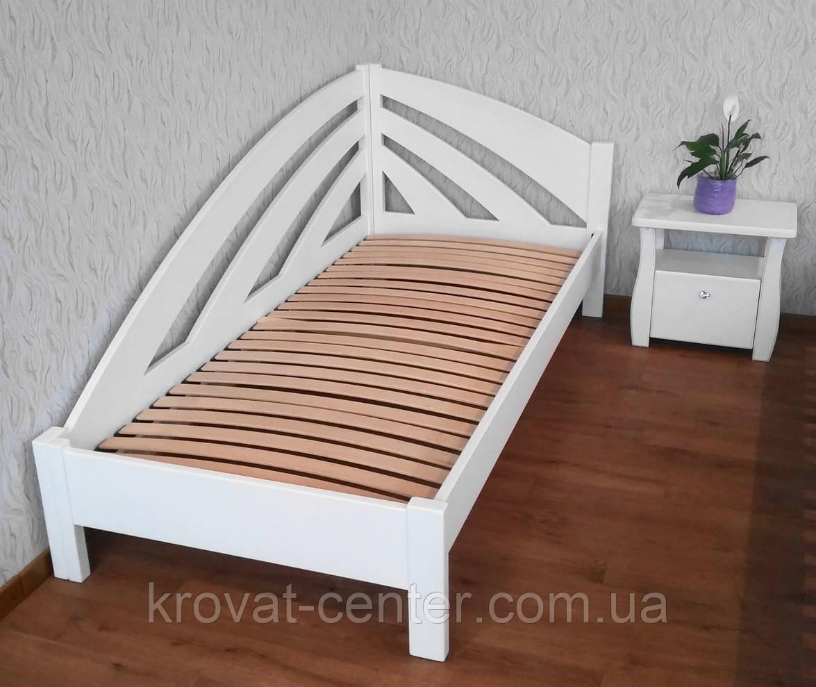 """Кровать белая """"Радуга"""""""