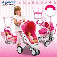 Коляска-трансформер для куклы 4 в 1 Maxi Cosi & Quinny Smoby 550389