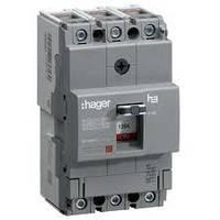 Силовой автоматический выключатель x250, In=200 А, 3 п, 40kA HNB200H, (Hager)