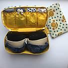 Органайзер для бюстгальтера и нижнего белья - футляр для косметики и туалетных принадлежностей, фото 4