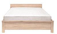 Ліжко двоспальне LOZ 160 (каркас) Каспіан дуб сонома Gerbor