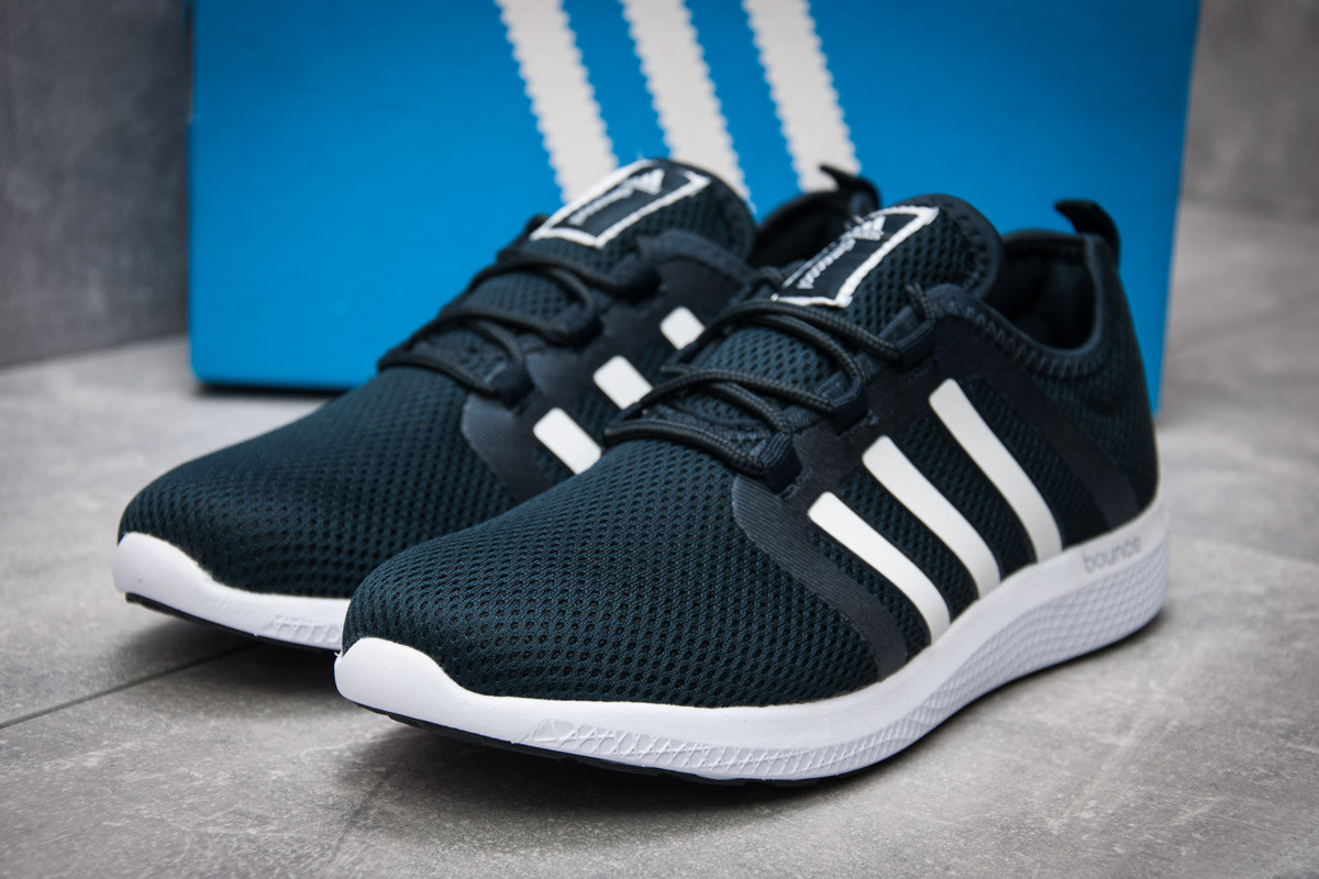 4469c27e Кроссовки мужские Adidas Bounce, темно-синий (12413), [ 44 (последняя