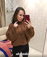 Женский свободный теплый свитер (2 цвета), фото 1