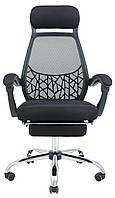 Кресло Таити хром сетка Черная (Richman ТМ)