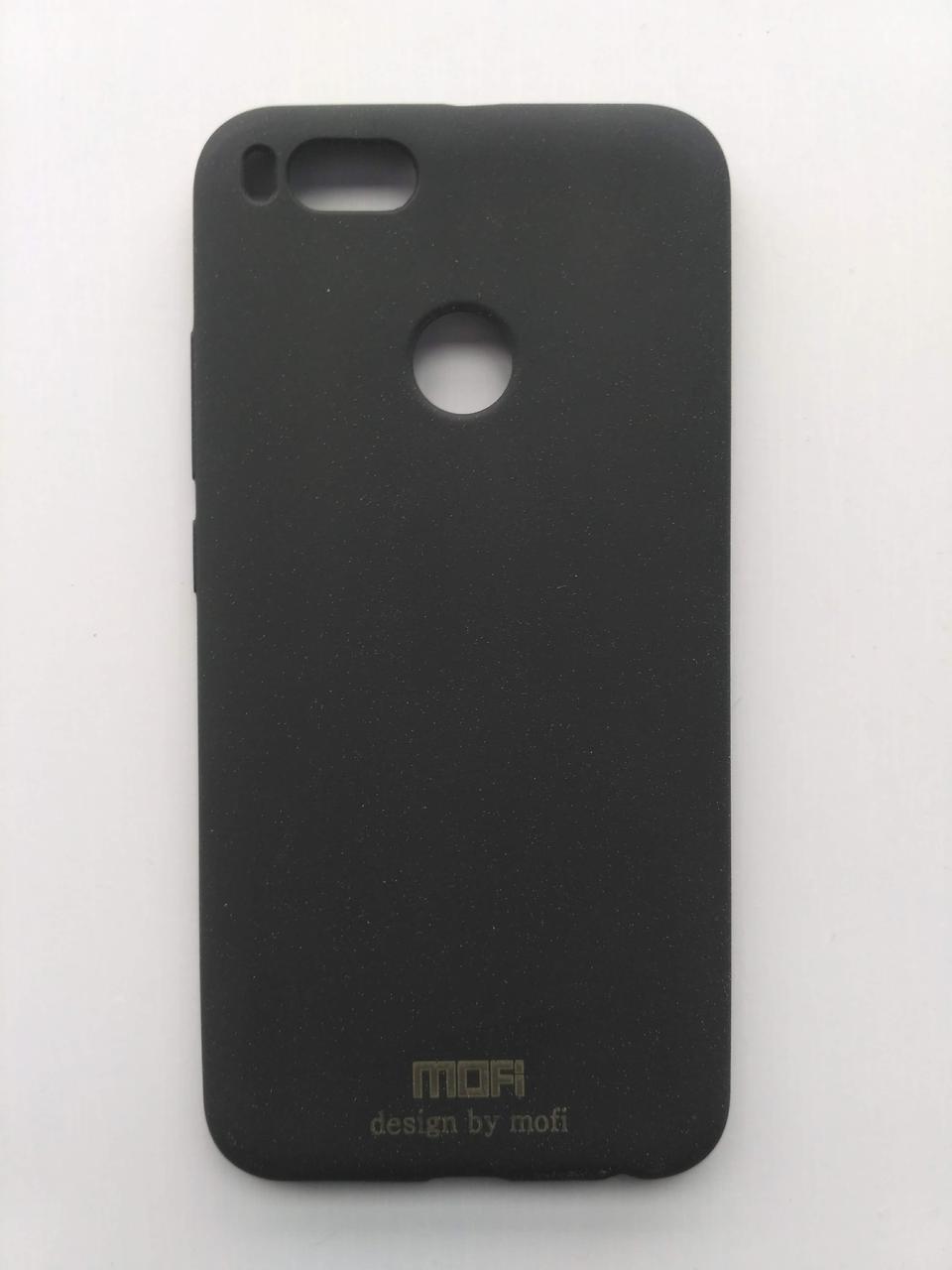 Силиконовый чехол Mofi для Xiaomi Mi5x / Mi A1 матовый черный