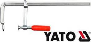 Струбцина кованая пластиковая ручка 500х120мм Yato YT-6408, фото 2