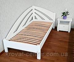 """Угловая односпальная кровать из массива дерева """"Радуга"""" от производителя, фото 3"""