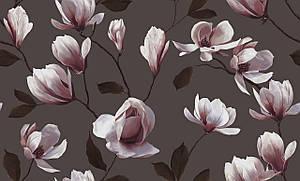 """Обои флизелиновые 3611-4  Магнолия   коллекция """"Spring Collecetion"""" Erismann  для гостиной, спальни, прихожей"""
