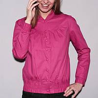 Женская легкая куртка малинового цвета WeSC Ullis ladies jacket размер S