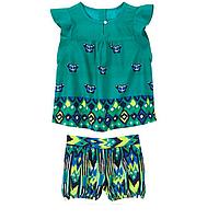 Набор комплект летний для девочки шорты и топ Crazy8 на 2-3 года