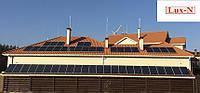 "Мережева сонячна електростанція 20.5 кВт, 380 В, під ""Зелений тариф"" . Сетевая солнечная электростанция"