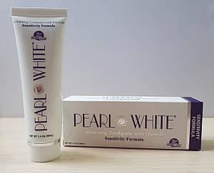 Отбеливающая зубная паста с фтором для чувствительных зубов Beyond Pearl White Sensitivity 40мл