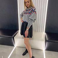 Женский шикарный свитер с пайетками, фото 1