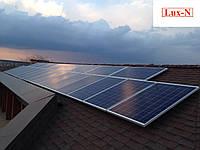 "Мережева сонячна електростанція 3,2 кВт, 380 В, під ""зелений тариф"". Сетевая солнечная электростанция, фото 1"
