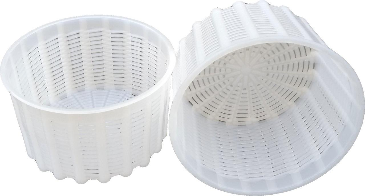 Форма для приготовления мягких сыров на 0,6 литра Ø125 мм пластиковая (ЧП КВВ)